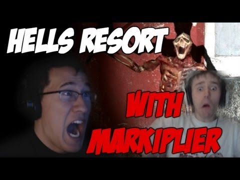 Hells Resort w/ Markiplier | MASSIVE JUMPSCARE!