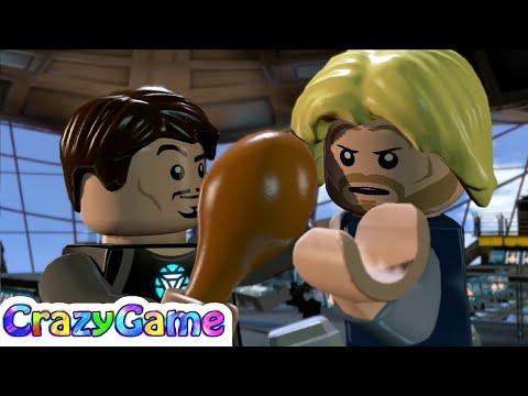 LEGO Marvel's Avengers Episode 5 - Iron Man, Black Widow, Captain America vs Hulk, Hawk Eye