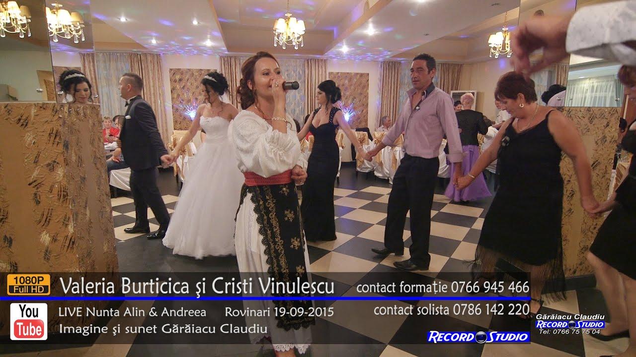 Valeria Burticica si Cristi Vinulescu Colaj SARBA part.1 LIVE Nunta Alin si Andreea 19-09-2015