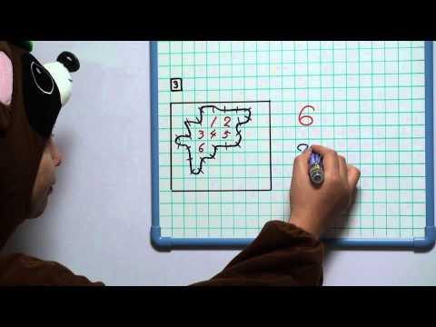 さかぽん先生 小5算 面積30 およその面積3 練習問題の答え合わせ