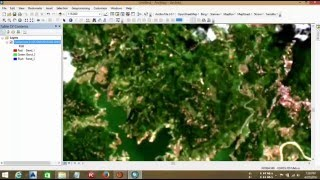 Pan Sharping Natural Colour With ArcGIS