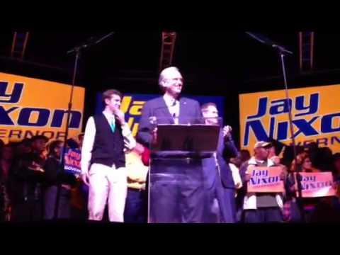 Jay Nixon acceptance speech