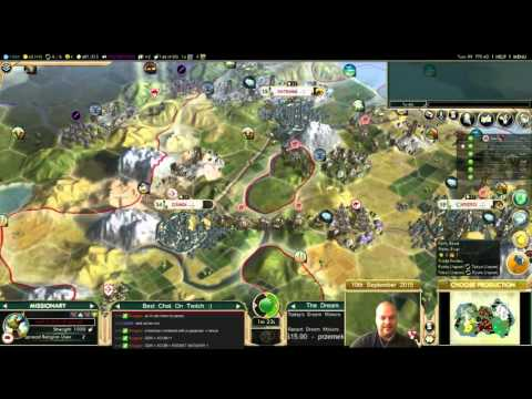 Civilization 5 Multiplayer 144: Japan [3/6] ( BNW 6 Player Free For All) Gameplay/Commentary
