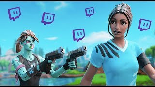 Killing Twitch Streamers #17 - Fortnite Battle Royale