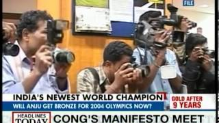 Anju Bobby George's medal upgraded to gold in 2005 WAF