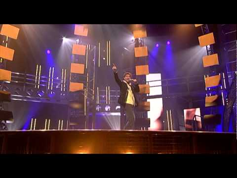 "Eric singing ""Dancing on the ceiling"" by Lionel Richie - Liveshow 2 - Idols season 2"
