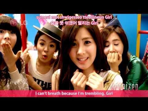 Snsd - Gee Hd Mv 【eng • Romanization • Hangul】 video