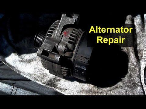 Alternator repair rebuild regulator replacement Auto Repair Series