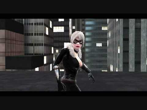 Spider Man Web Of Shadows Spidey Vs Black Cat Youtube