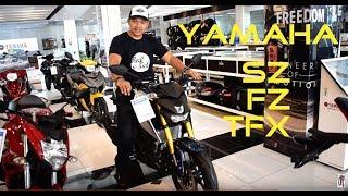 Shop Talk: Yamaha SZ 150   FZi 150   TFX 150