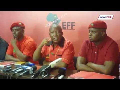 ''The ANC government has been zombified'' - Julius Malema