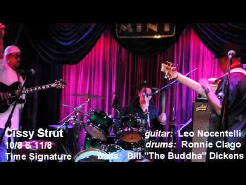 Leo Nocentelli, Ronnie Ciago, Bill (The Buddha) Dickens - Cissy Strut - The Mint.wmv