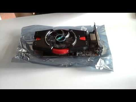 Asus Nvidia GeForce GT 640 Unboxing