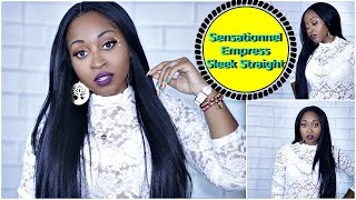 UNDER $30 ☆ Sensationnel SLEEK STRAIGHT long WIG  🕊🔥