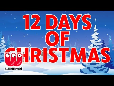Christmas Nursery Rhymes for Children 🎵🎄🔔 12 Days Of Christmas 🔔🎄🎵 Nursery Rhymes Time