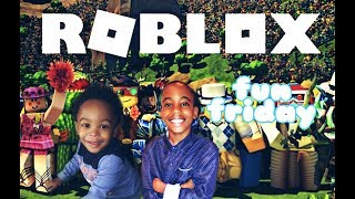 My sons explore the world of roblox (fun friday)