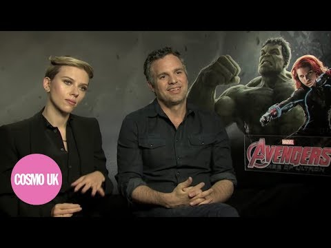 COSMOPOLITAN flip sexist questions on The Avengers Scarlett Johansson and Mark Ruffalo