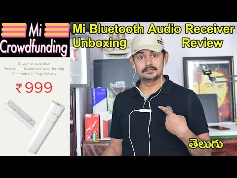 Xiaomi Mi Bluetooth Audio Receiver White: Unboxing & Review | in Telugu | Tech-Logic