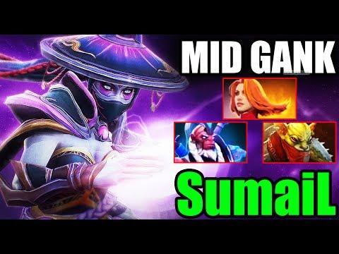 SumaiL [Templar Assassin] Non-Stop MID GANK - Dota 2