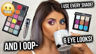 I USED EVERY SHADE! TESTING SHANE X JEFFREE CONSPIRACY COLLECTION! THE. REAL. TEA! 4K + MACRO!