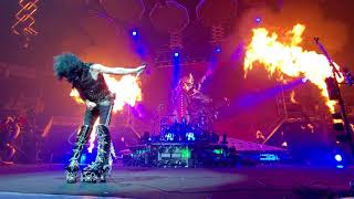 KISS - Paul Stanley in Flight