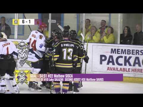 Manchester Storm vs Edinburgh Capitals Match Highlights 06092015
