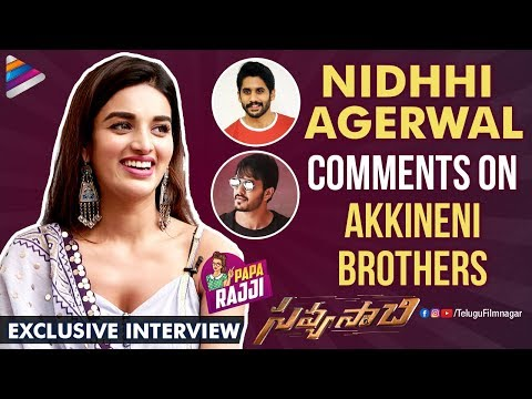 Nidhhi Agerwal Exclusive Interview | Savyasachi Telugu Movie | Naga Chaitanya | Akhil Akkineni