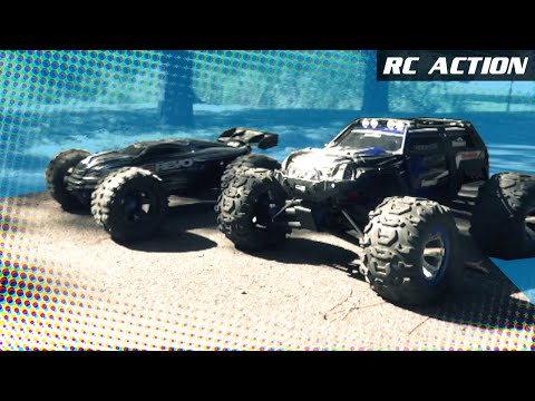 Traxxas E-REVO vs. Traxxas SUMMIT