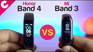 Honor Band 4 vs Mi Band 3 Full Comparison - Which One is BETTER!!