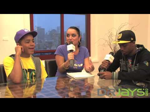New Boyz interviewed by Boss Lady for DrJays.com