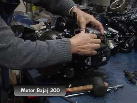 Gustavo Morea describe el motor Bajaj Rouser 200 NS - Parte 3