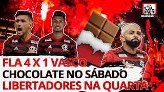 DEBATE - CHOCOLATE NO VASCO E LIBERTADORES NA QUARTA