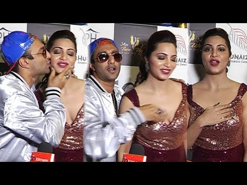 Arshi Khan and Akash Dadlani To Unveil The Calendar Adorned By Television Celebs | Full Funny Video