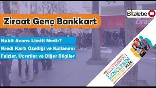 Ziraat Bankası Genç Bankkart ve Kredi Kartı Hakkında Herşey