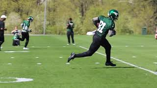 New York Jets first 2019 minicamp practice
