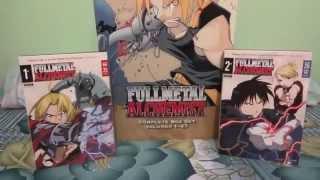 Fullmetal Alchemist Manga Box Set & Seasons 1 & 2 DVD Box Sets Unboxing