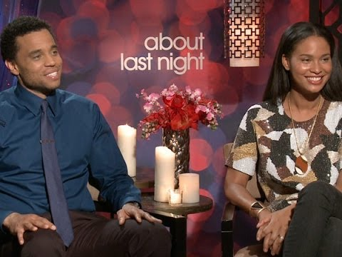 Michael Ealy and Joy Bryant Talk