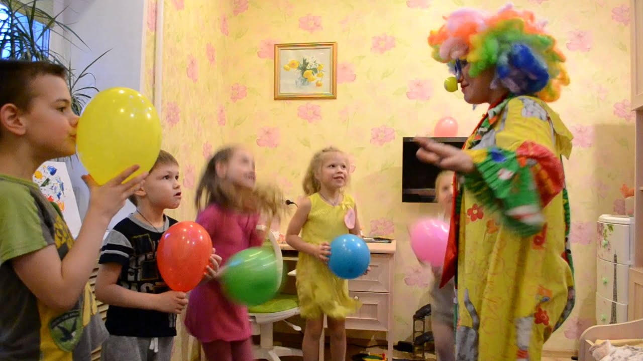 Сценарий с конкурсами для детей на день рождения