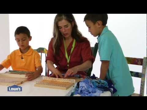 How to build an easy kid's loom