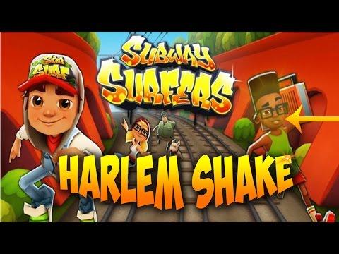 """Subway Surf """"Harlem Shake""""!!-Fresh's active dance!!!"""