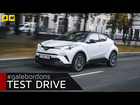 Toyota C-HR  Test drive AMboxing