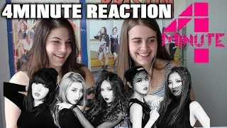 Download Lagu 4MINUTE REACTION: WHATCHA DOIN' TODAY, CRAZY, HATE (KPOP REACTIONS S1 EP 1) Gratis STAFABAND