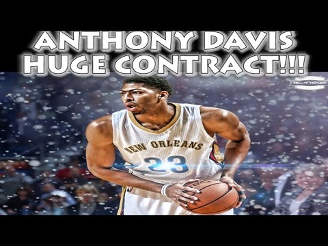 ANTHONY DAVIS SIGNS HUGE CONTRACT!!! | NBA Free Agency | (NBA 2K15)