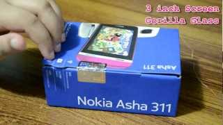 Nokia Asha 311 - Unboxing & Quick Review in URDU