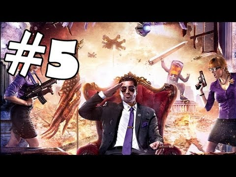 Saints Row 4 Walkthrough Part 5 *SPOILERS* Gameplay Review Let's Play Playthrough PC XBOX 360 PS3