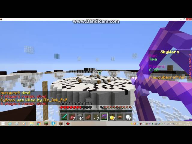 minecraft mini igre sky wars 5 ep!!!! thumbnail