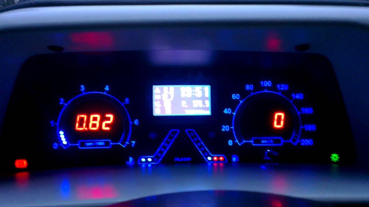 Ваз 2114 подсветка приборной панели своими руками