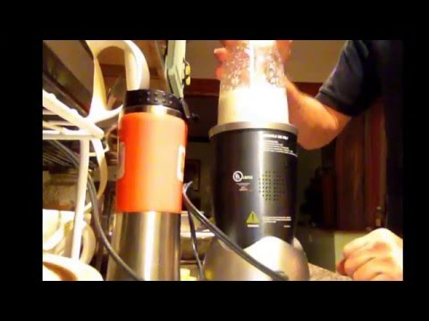 Mixing Apple Cider vinegar, garlic & onion