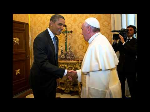 Obama, Pope Francis meet for first time