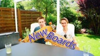 Neue Boards   Longboard/German